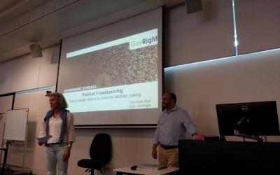 GovRight Presentation at RMIT University in Melbourne, Australia