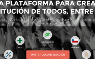 Crowdsourcing the Chilean Constitution