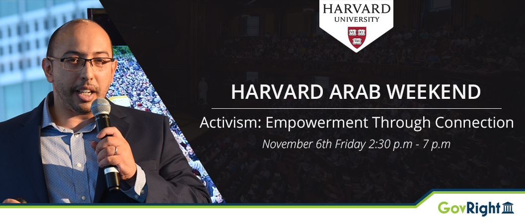 GovRight to Participate in Harvard Arab Weekend Conference